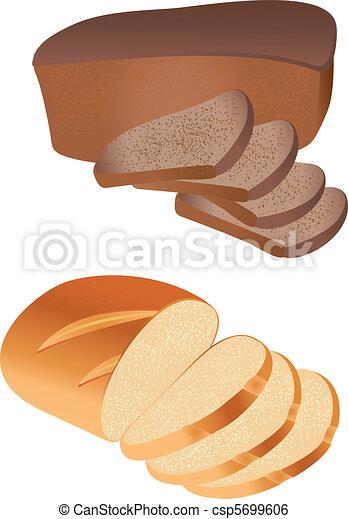 Bread vector - csp5699606