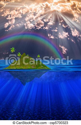 Floating Island - csp5700323