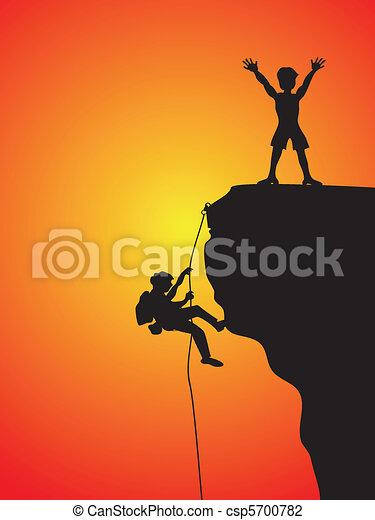rock climbing - csp5700782