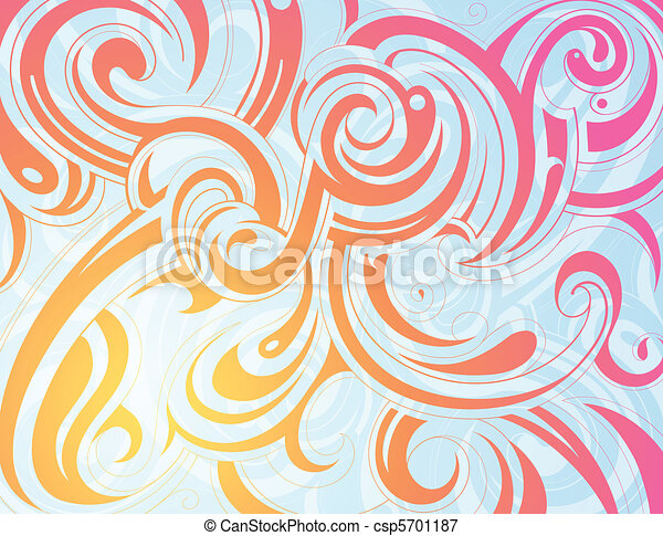 Decorative artwork - csp5701187
