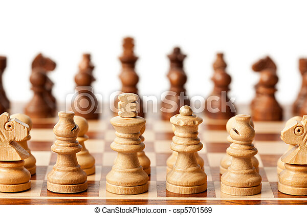 Chess - beginning of game - csp5701569