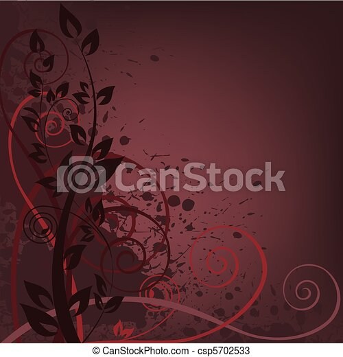 dark spattered background - csp5702533