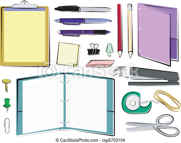 School and Office Supplies - csp5703104