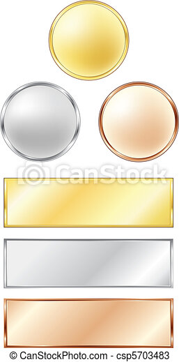 Sport medals - csp5703483