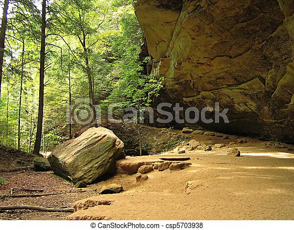 Ash Cave Hocking Hills Ohio - csp5703938