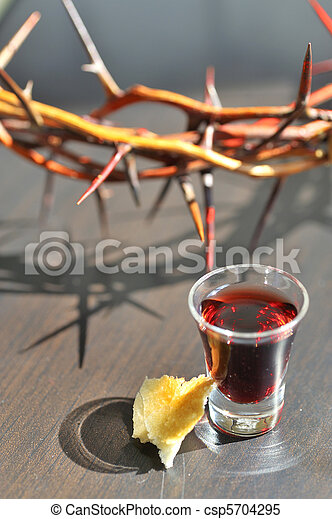 Taking Communion - csp5704295