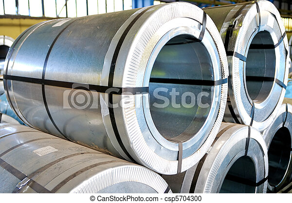 rolls of steel sheet - csp5704300
