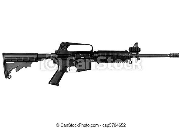 Military Rifle - csp5704652