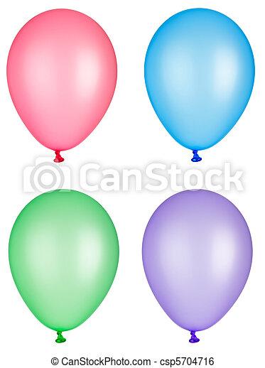 balloon toy childhood celebration fiesta - csp5704716