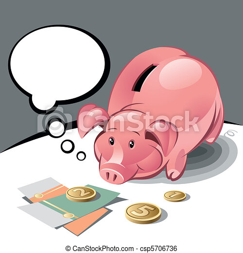 Piggy Bank  - csp5706736