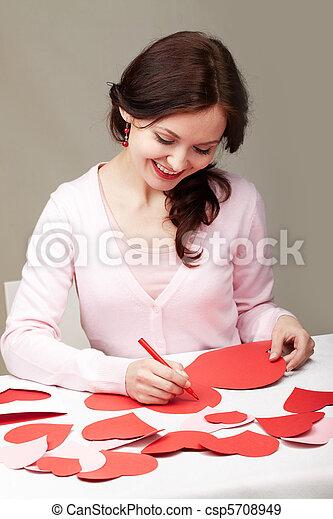 Saint Valentine?s day  - csp5708949