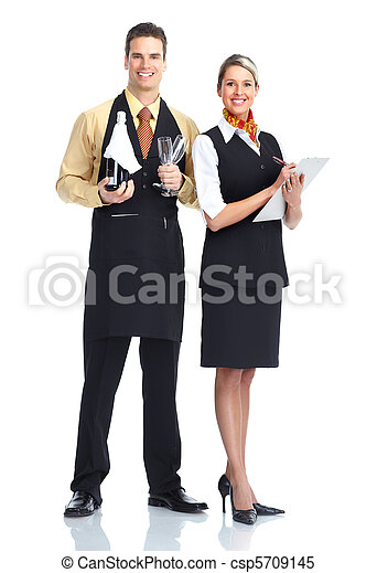 waiter man - csp5709145
