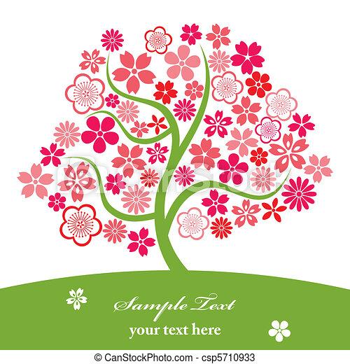 Cherry blossoms - csp5710933