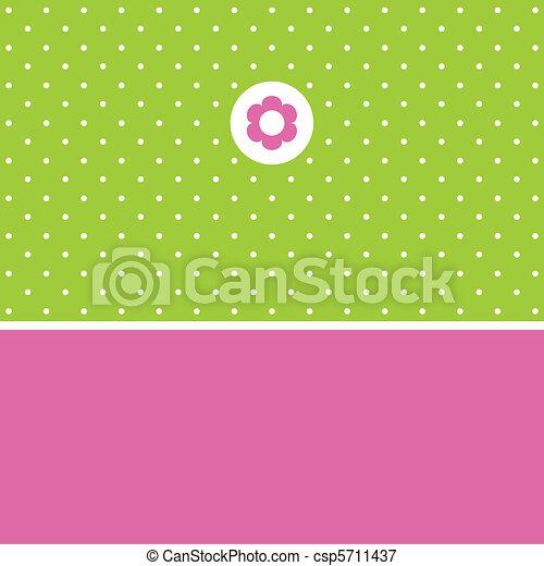 Greeting card - csp5711437