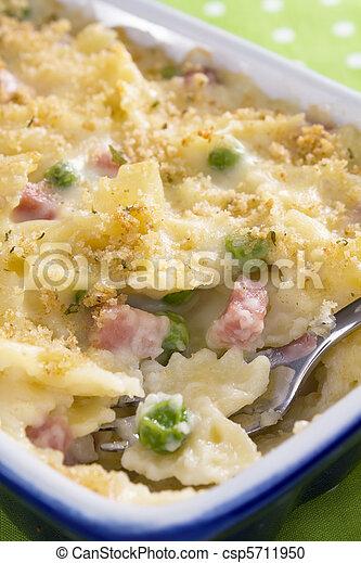 Ham Noodle Casserole - csp5711950