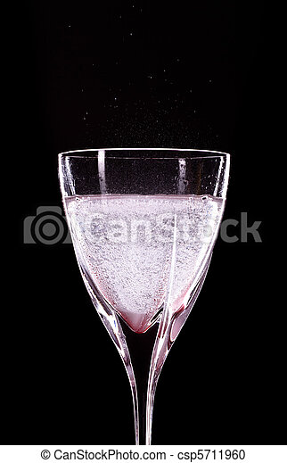 Glass of Mineral Water - csp5711960