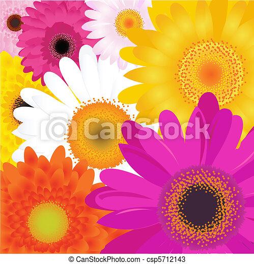 Bright Flowers - csp5712143