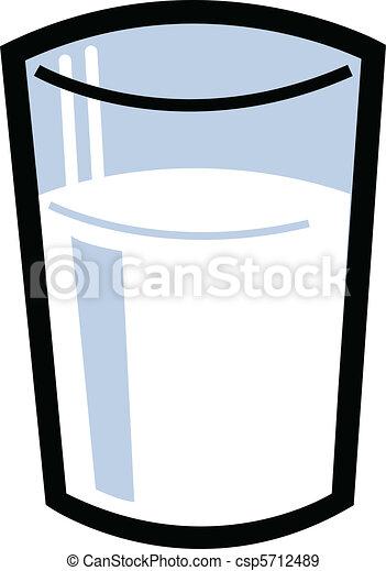 Glas leer clipart  Milch Illustrationen und Stock Kunst. 62.649 Milch ...
