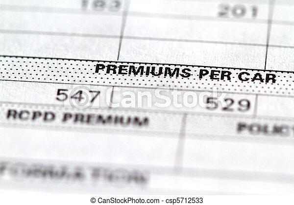 Insurance - csp5712533