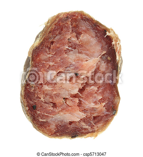 Sliced Sausage - csp5713047