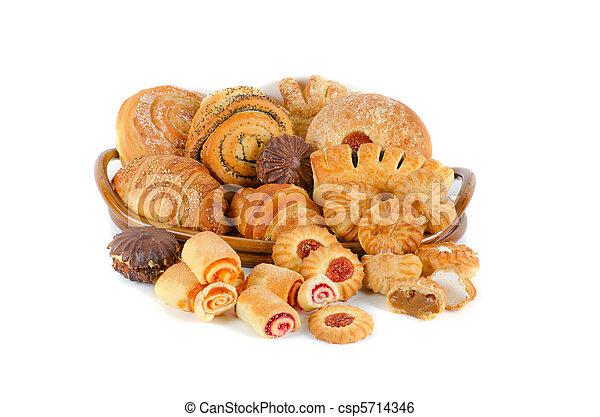 Bakery foodstuffs set - csp5714346