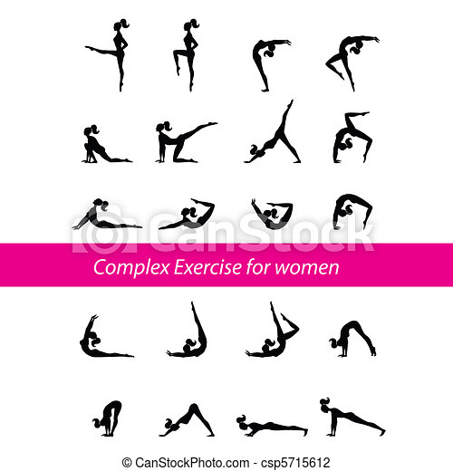 Complex-Exercise-for-women - csp5715612