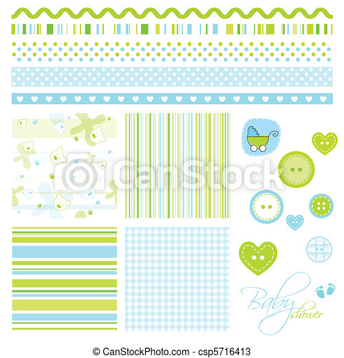 Scrapbook elements - csp5716413