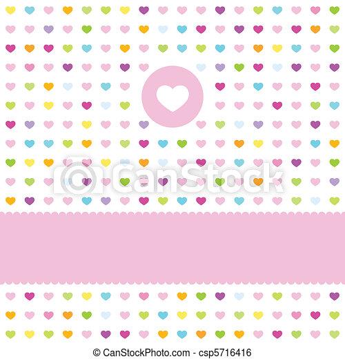 Greeting card - csp5716416
