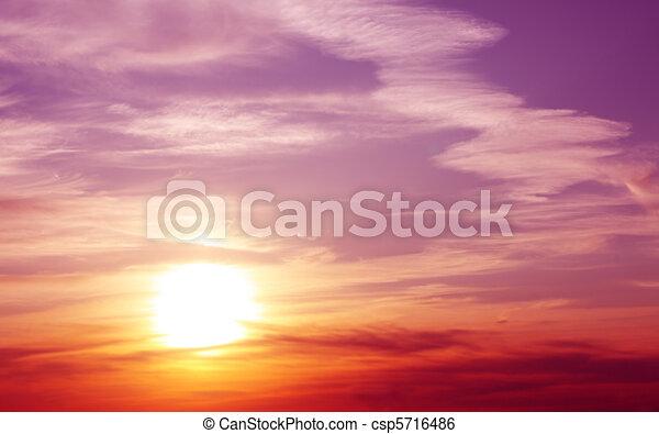 Sunset - csp5716486