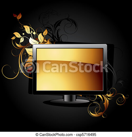 web icon LCD panel  - csp5716495