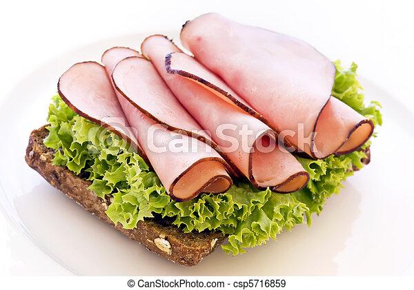 Ham sandwich - csp5716859