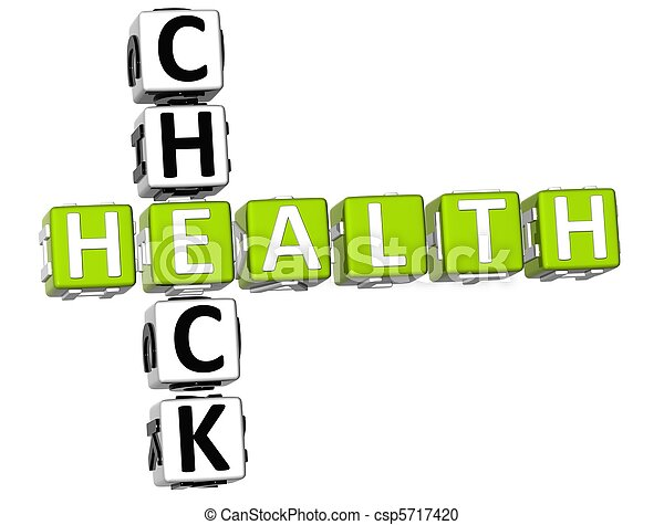 Check Health Crossword - csp5717420