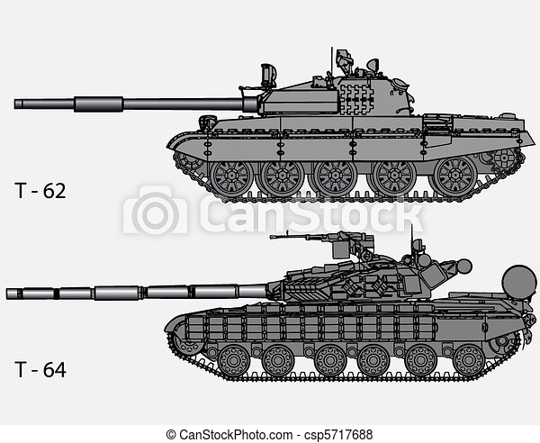 Vector - Russian tanks - csp5717688