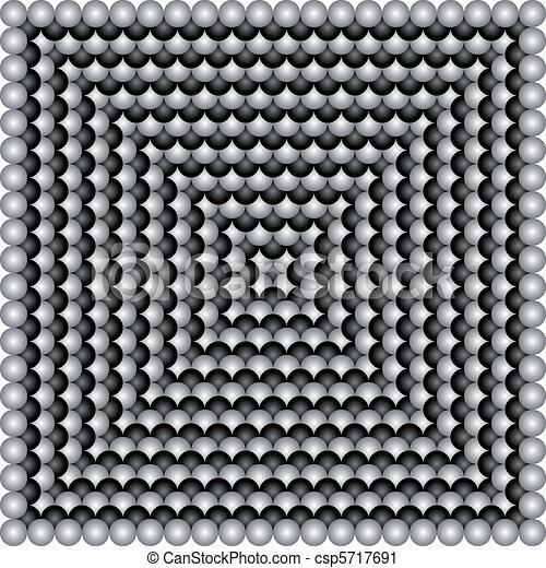Vector geometric illusions - csp5717691