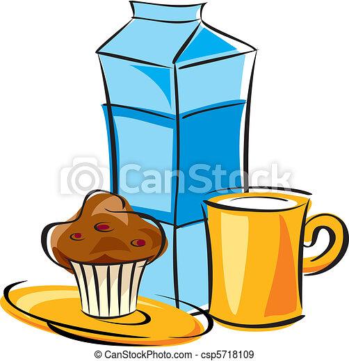 dairy breakfast - csp5718109