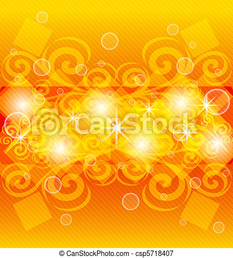 abstract orange background - csp5718407