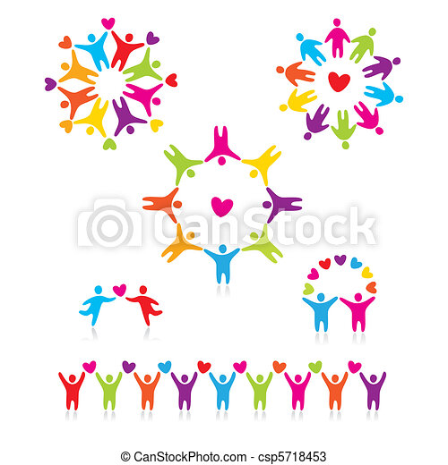 people-connected-symbols - csp5718453