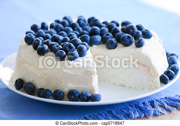Angel food cake - csp5718847