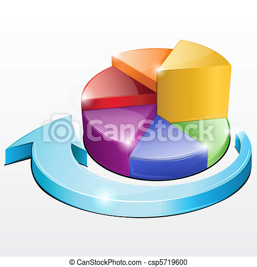 Pie Chart - csp5719600