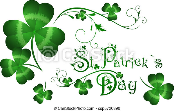 St.Patrick day greeting - csp5720390