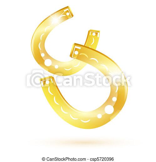 lucky horseshoes - csp5720396