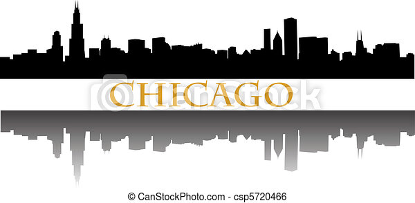 chicago skyline - csp5720466