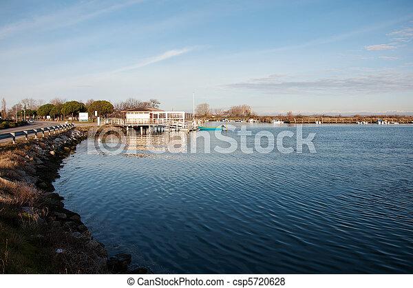 Grado's Lagoon Landscape - csp5720628
