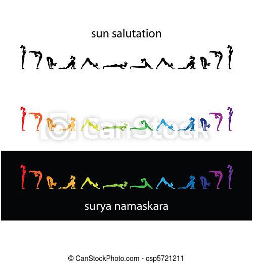 yoga-surya-namaskara - csp5721211