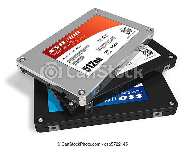 Set of solid state drives (SSD) - csp5722145