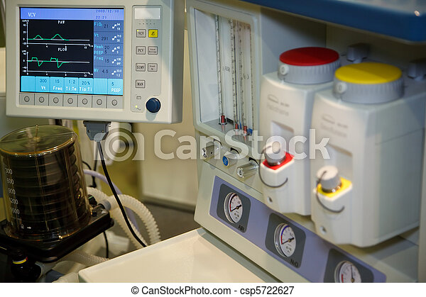 Resuscitation, system anapnotherapy. Monitor with health data based. - csp5722627
