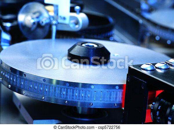 electronic part production