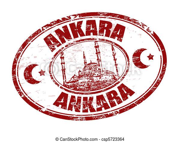 Ankara stamp - csp5723364