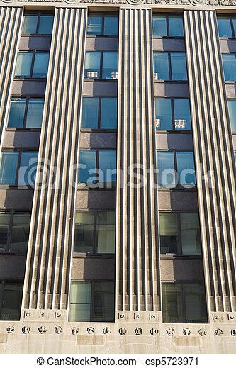Stock fotografie van gebouw dc verticaal kantoor lijnen washington sterke csp5723971 - Kantoor lijnen ...