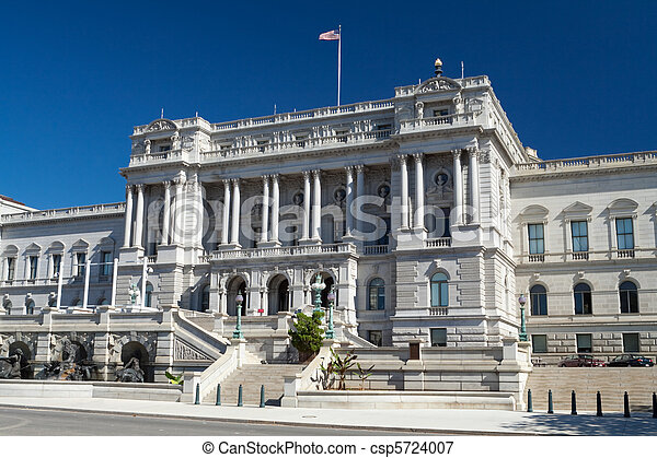 Library of Congress Washington DC Beaux-Arts Architecture - csp5724007